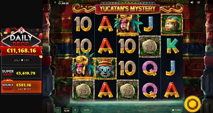 Yucatans Mystery – spilleautomat fra Red Tiger